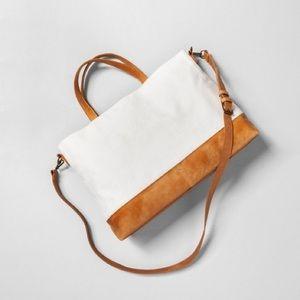 Cream Satchel Crossbody Bag Hearth & Hand Magnolia
